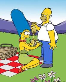 #pic591235: Homer Simpson – Marge Simpson – The Simpsons