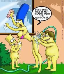 #pic592415: Bart Simpson – Lester The Molester – Marge Simpson – Nelson Muntz – The Simpsons – odin3000 – ohhjeez