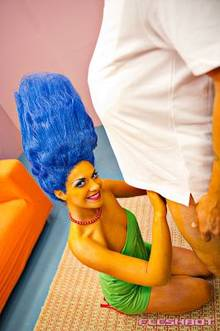 #pic589640: Homer Simpson – Marge Simpson – The Simpsons – cosplay