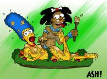 #pic589225: ASH! – Marge Simpson – The Simpsons