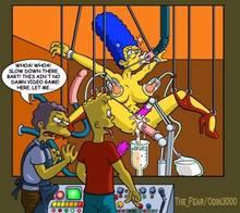 #pic680381: Bart Simpson – Marge Simpson – Moe Szyslak – The Fear – The Simpsons – odin3000