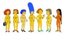 #pic678349: Edna Krabappel – Helen Lovejoy – Manjula Nahasapeemapetilon – Marge Simpson – Maude Flanders – The Simpsons