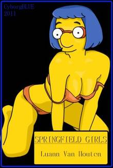 #pic678310: CyborgBLUE – Luann Van Houten – The Simpsons