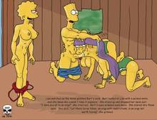 #pic266220: Bart Simpson – Lisa Simpson – Sherri – Terri – The Fear – The Simpsons – comic