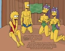 #pic266219: Bart Simpson – Lisa Simpson – Sherri – Terri – The Fear – The Simpsons – comic