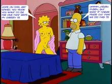 #pic1234399: Homer Simpson – Lisa Simpson – The Simpsons