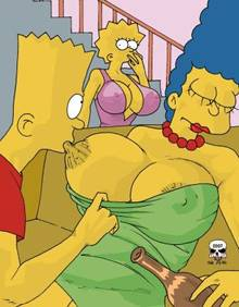 #pic244823: Bart Simpson – Lisa Simpson – Marge Simpson – The Fear – The Simpsons