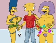 #pic244822: Bart Simpson – Marge Simpson – Selma Bouvier – The Fear – The Simpsons