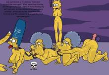 #pic244814: Bart Simpson – Lisa Simpson – Marge Simpson – Patty Bouvier – Selma Bouvier – The Fear – The Simpsons
