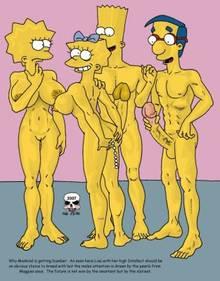 #pic244441: Bart Simpson – Lisa Simpson – Maggie Simpson – Milhouse Van Houten – The Fear – The Simpsons