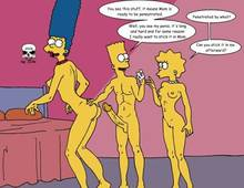 #pic244128: Bart Simpson – Lisa Simpson – Marge Simpson – The Fear – The Simpsons