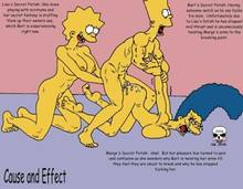 #pic244108: Bart Simpson – Lisa Simpson – Marge Simpson – The Fear – The Simpsons