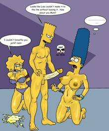 #pic244810: Bart Simpson – Lisa Simpson – Marge Simpson – The Fear – The Simpsons