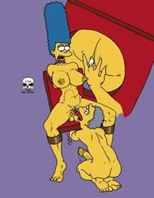 #pic244059: Marge Simpson – Moe Szyslak – The Fear – The Simpsons