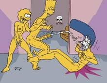 #pic243629: Bart Simpson – Lisa Simpson – Marge Simpson – The Fear – The Simpsons