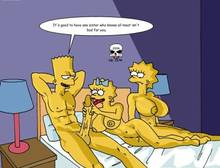 #pic243600: Bart Simpson – Lisa Simpson – Maggie Simpson – The Fear – The Simpsons