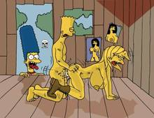 #pic243599: Bart Simpson – Lisa Simpson – Marge Simpson – The Fear – The Simpsons