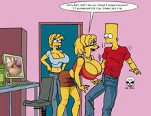#pic243598: Bart Simpson – Lisa Simpson – Maggie Simpson – The Fear – The Simpsons