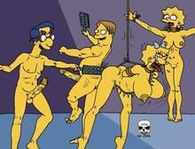#pic243535: Lisa Simpson – Maggie Simpson – Martin Prince – Milhouse Van Houten – The Fear – The Simpsons