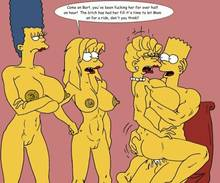 #pic243244: Bart Simpson – Lisa Simpson – Maggie Simpson – Marge Simpson – The Fear – The Simpsons