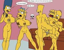 #pic243243: Bart Simpson – Homer Simpson – Lisa Simpson – Maggie Simpson – Marge Simpson – The Fear – The Simpsons