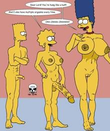 #pic243169: Bart Simpson – Lisa Simpson – Marge Simpson – The Fear – The Simpsons