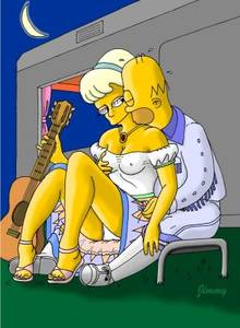 #pic242734: Homer Simpson – Jimmy – Lurleen Lumpkin – The Simpsons