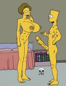 #pic242144: Bart Simpson – Edna Krabappel – The Fear – The Simpsons