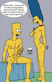 #pic242140: Bart Simpson – Marge Simpson – The Fear – The Simpsons