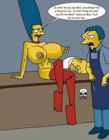 #pic242112: Homer Simpson – Marge Simpson – Moe Szyslak – The Fear – The Simpsons