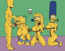 #pic241412: Bart Simpson – Lisa Simpson – Maggie Simpson – Marge Simpson – The Fear – The Simpsons