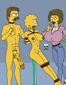 #pic241396: Lisa Simpson – Maude Flanders – Ned Flanders – The Fear – The Simpsons
