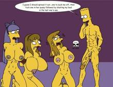 #pic241379: Allison Taylor – Bart Simpson – Laura Powers – Sherri – Terri – The Fear – The Simpsons