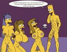 #pic241379: Allison Taylor – Bart Simpson – Laura Powers – Sherri – Terri – The Fear – The Simpsons