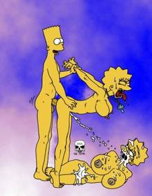 #pic241374: Bart Simpson – Lisa Simpson – Maggie Simpson – The Fear – The Simpsons