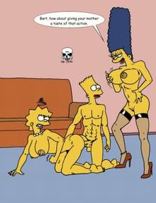 #pic241337: Bart Simpson – Marge Simpson – The Fear – The Simpsons