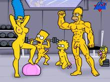 #pic122504: Bart Simpson – Homer Simpson – Lisa Simpson – Maggie Simpson – Marge Simpson – The Simpsons – WDJ
