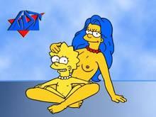 #pic122496: Lisa Simpson – Marge Simpson – The Simpsons – WDJ