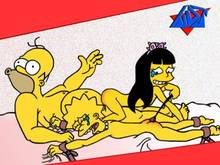 #pic122489: Homer Simpson – Jessica Lovejoy – Lisa Simpson – The Simpsons – WDJ