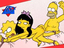 #pic122488: Homer Simpson – Jessica Lovejoy – Lisa Simpson – The Simpsons – WDJ