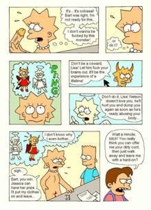 #pic97981: Bart Simpson – Lisa Simpson – Milhouse Van Houten – Nelson Muntz – The Simpsons