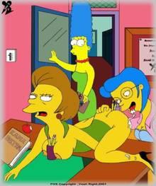 #pic142792: Dav.B.Esp – Edna Krabappel – Elizabeth Hoover – Marge Simpson – The Simpsons