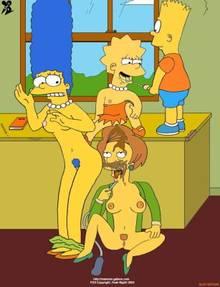#pic142791: Bart Simpson – Dav.B.Esp – Edna Krabappel – Lisa Simpson – Marge Simpson – The Simpsons