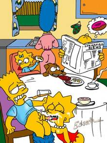 #pic142819: Bart Simpson – Escoria – Lisa Simpson – Maggie Simpson – Marge Simpson – The Simpsons