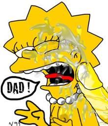 #pic655074: Homer Simpson – Lisa Simpson – The Simpsons
