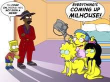 #pic653847: Bart Simpson – Eulogy Jones – Fallout – Fallout 3 – Jessica Lovejoy – Lisa Simpson – Milhouse Van Houten – P.Chronos – The Simpsons