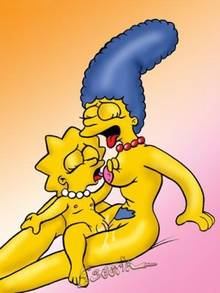 #pic652909: Escoria – Lisa Simpson – Marge Simpson – The Simpsons
