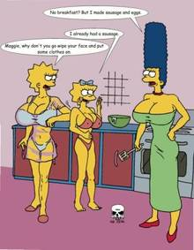 #pic239540: Lisa Simpson – Maggie Simpson – Marge Simpson – The Fear – The Simpsons