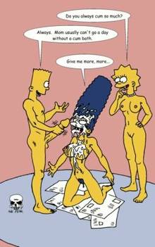 #pic239539: Bart Simpson – Lisa Simpson – Marge Simpson – The Fear – The Simpsons