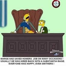 #pic222285: Cosmic – Marge Simpson – Montgomery Burns – The Simpsons – Waylon Smithers
